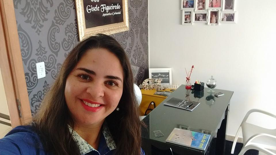 """Gisele Figueiredo: """"Mais que festas, ajudo a construir famílias"""""""