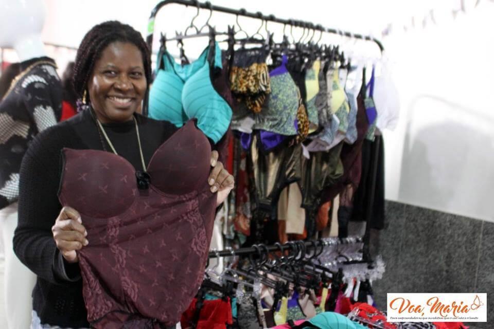 Em busca de lingeries confortáveis, Elaine Souza criou o próprio negócio