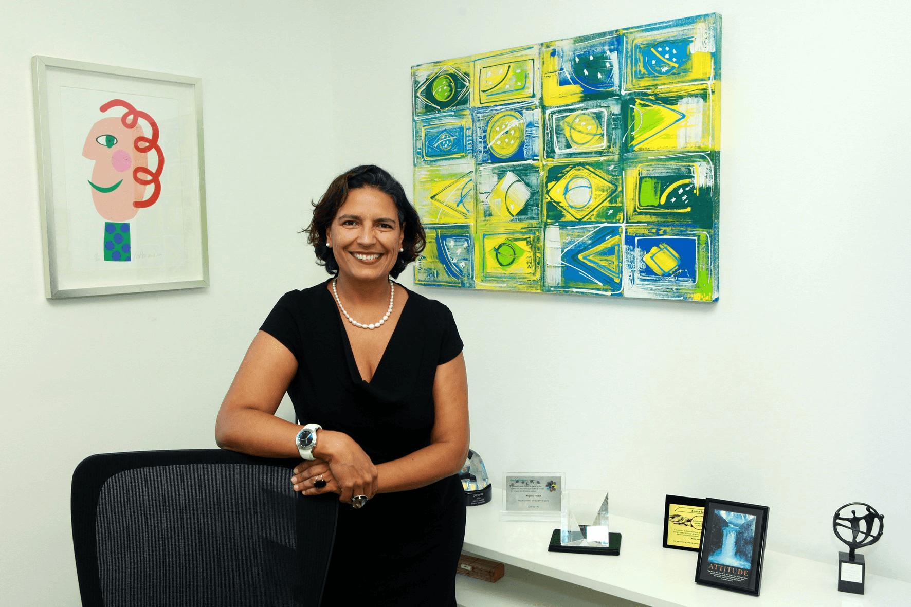 Eliana Tameirão: além de carreira executiva consolidada, ela criou startup de referência no Brasil