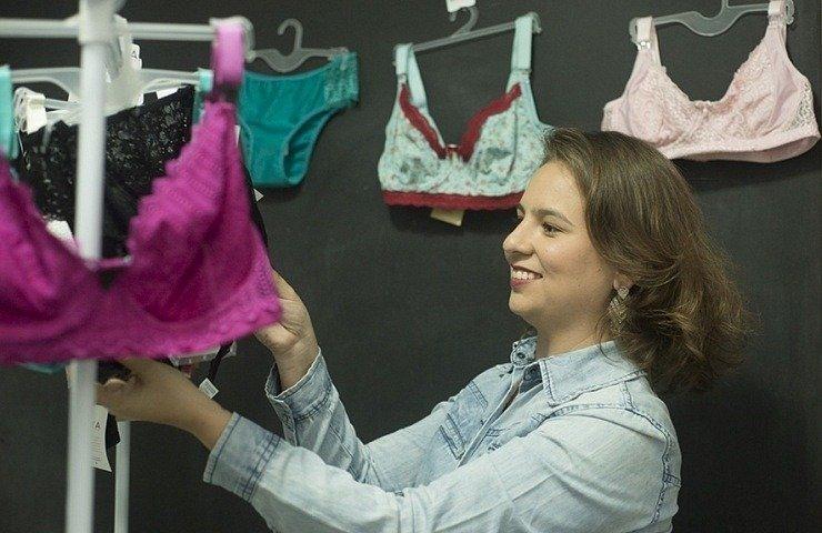 Com lingerie para lactantes, Natália Pereira planeja exportar conforto para mães de todo o mundo