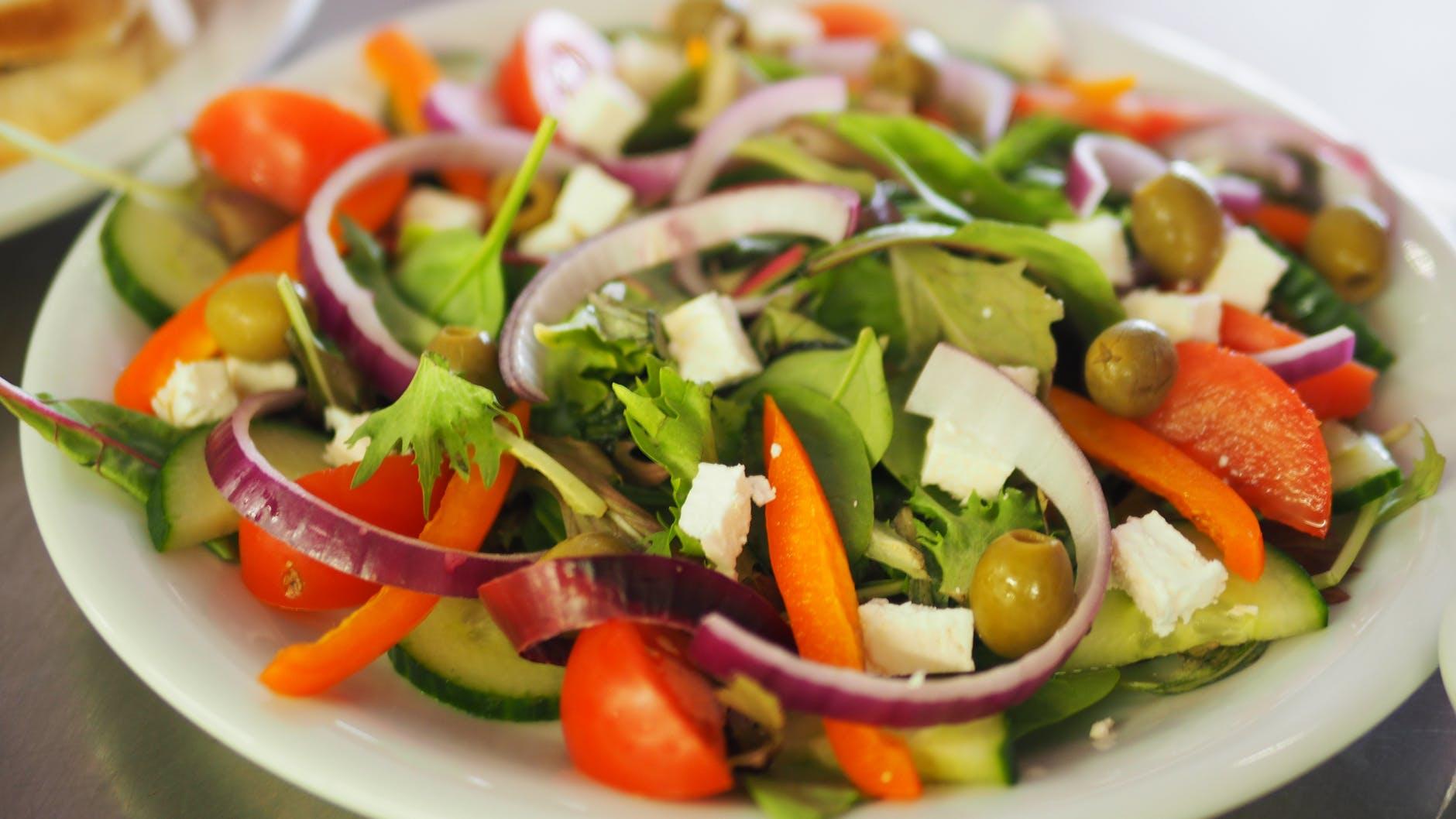 Coma saladas e não fique doente